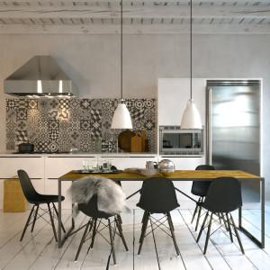 skandinavische kche in Altbau Loft - scandinavian style kitchen